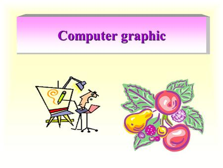 Computer graphic.