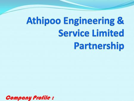 Athipoo Engineering & Service Limited Partnership