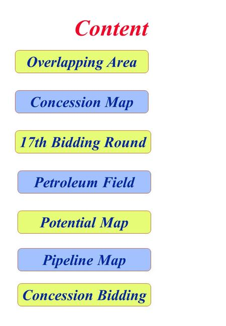 Content Overlapping Area Concession Map 17th Bidding Round Petroleum Field Potential Map Pipeline Map Concession Bidding.