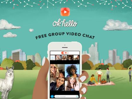 Get together with your friends on video OkHello: