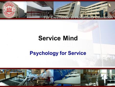 Psychology for Service
