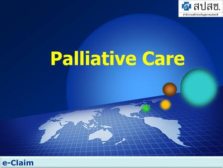 Palliative Care e-Claim.