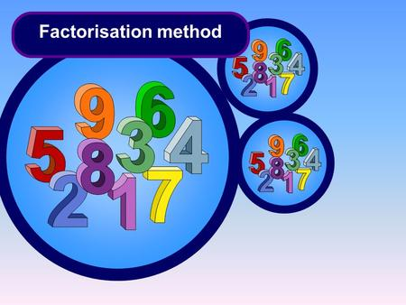 Factorisation method. We will chake the answer Practice 3.2 1. 2. 3. 4.4. multiplication Commutative Distributive Addition Assosiative multiplication.