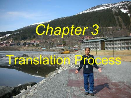 Translation Process Chapter 3. Why study translation?