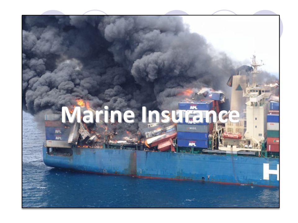 ความหมายของการประกันภัย ความหมายหรือนิยามของคำว่า Marine Insurance (การประกันภัยทางทะเล) ที่ได้รับการยอมรับและอ้าง ถึงมากที่สุด คือ นิยามที่บัญญัติไว้ในมาตรา 1 ของ Marine Insurance Act 1908 ของอังกฤษ ที่บัญญัติไว้ ว่า 1.