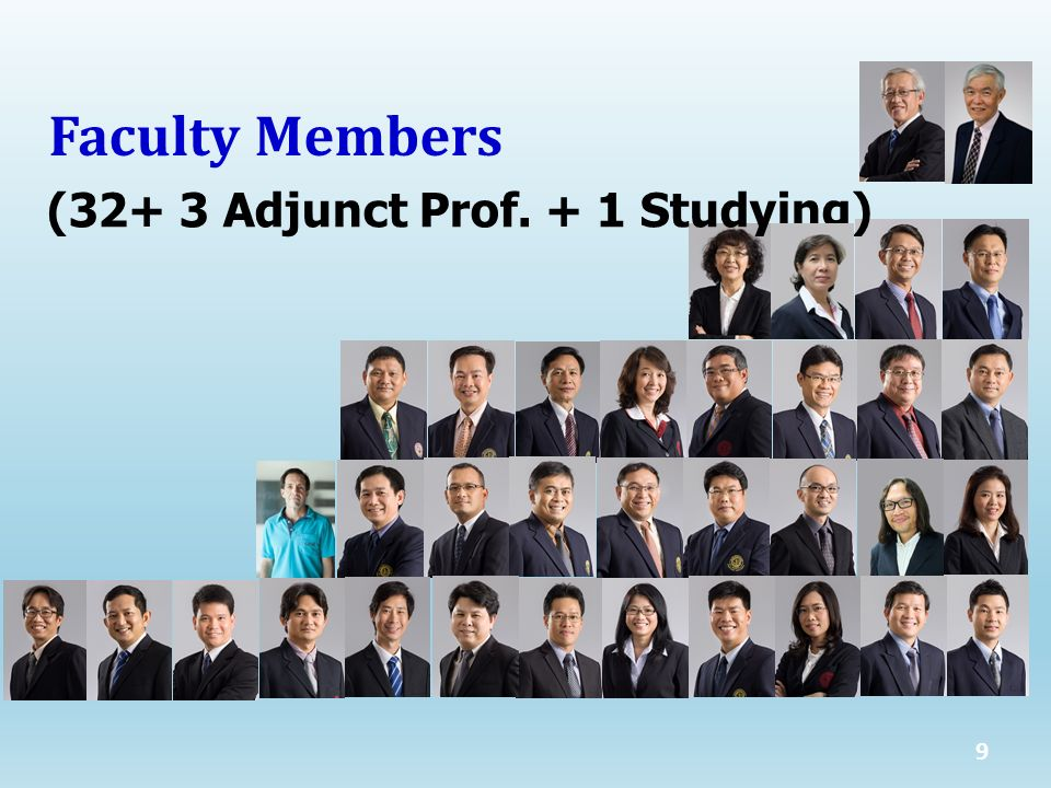 10 Faculty Members (33)