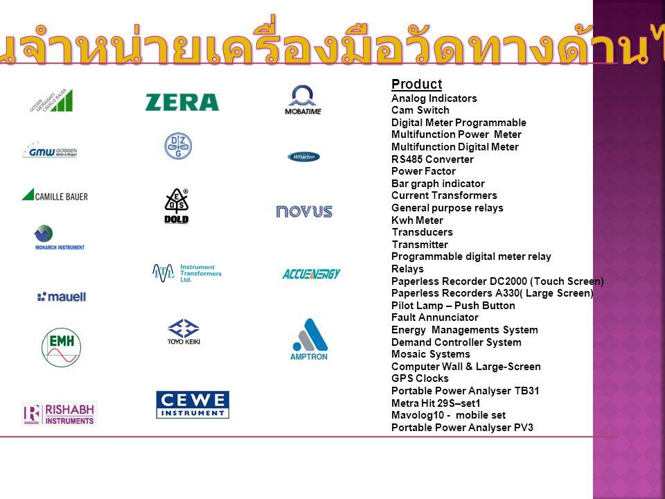 ISO 9001 ใบรับรองจาก PTB Amptron Instruments (Thailand) Co.,Ltd.