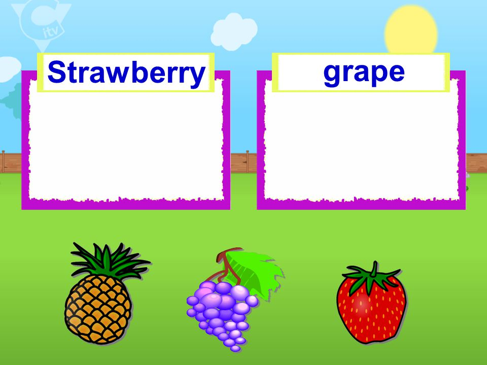 Strawberry grape