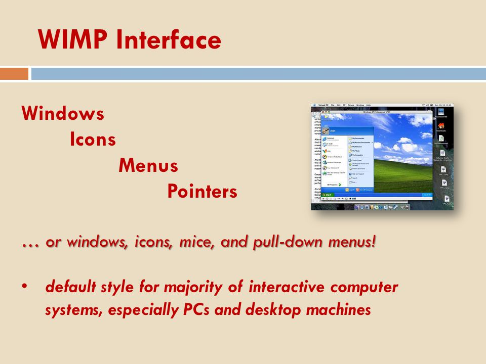 Point and click interfaces used in..multimedia web browsers hypertext just click something.