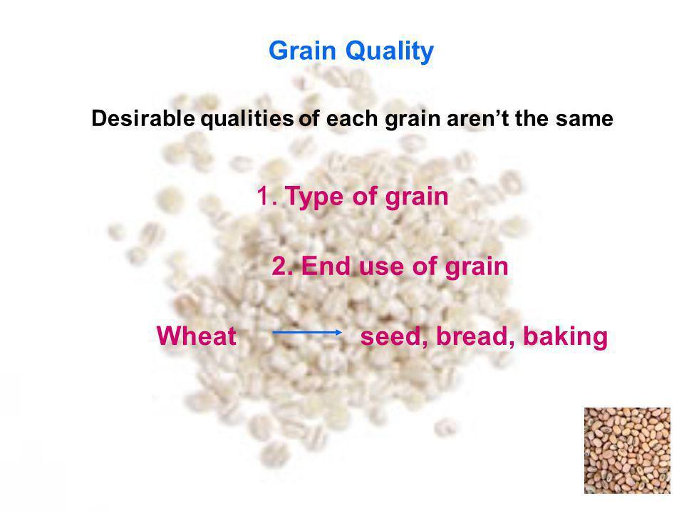 Factors effect to grain qualities 2.
