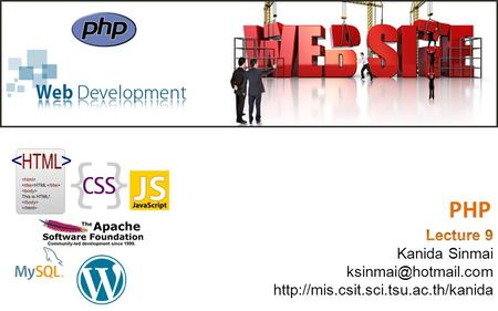 PHP. What You Should Already Know HTML CSS JavaScript.