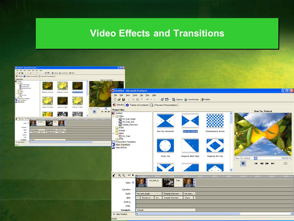 56 Video Effects and Transitions