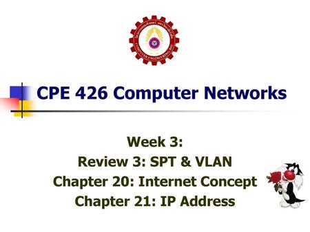 Chapter 20: Internet Concept