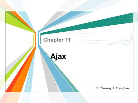 Chapter 11 Ajax.