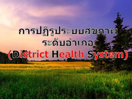 (District Health System)