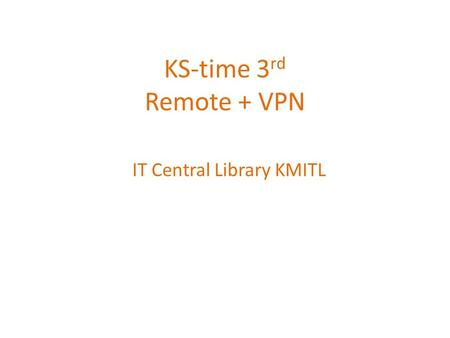 IT Central Library KMITL