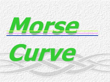 Morse Curve r H-Cl (Angstroms) ฎ พลังงานศักย์ (kcal/mol) ฎ 101520253035 5 120 100 80 60 40 20 6 5 4 3 2 1 0 7 AB Cl H 0.5 compressed Cl H near equilibrium.