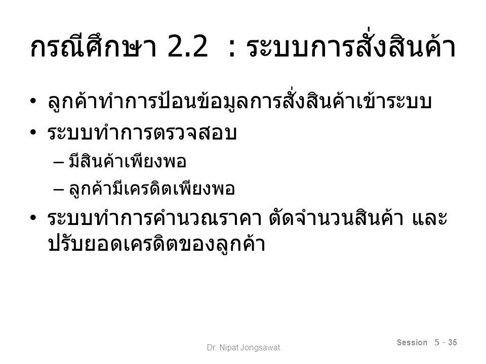 Session 5 - 36 Dr. Nipat Jongsawat
