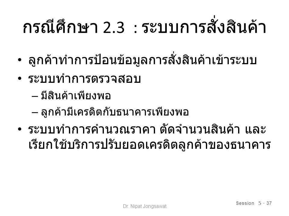 Session 5 - 38 Dr. Nipat Jongsawat