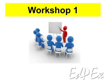 Workshop 1.
