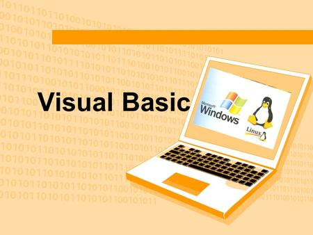 Visual Basic.