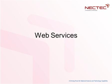 Web Services. Introduction to Web Service Web Service is XML and HTTP –HTTP can go anywhere with Internet –XML, standard language, easily to modify Example: