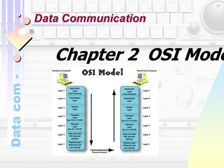 Data com - Chapter 2 OSI Model Data Communication.