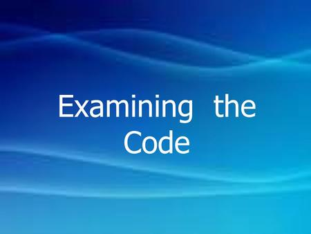 Examining the Code. Static While-Box Testing : เป็นการตรวจสอบ การออกแบบ และ Code Static While-Box Testing : is the process of carefully and Methodically.