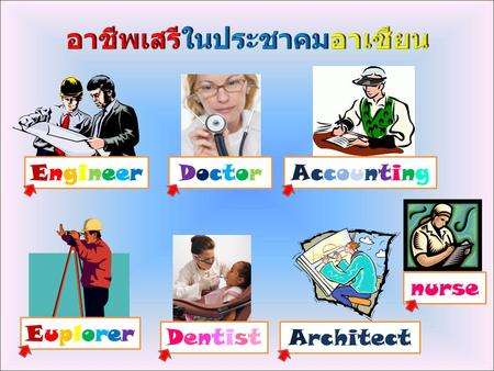 EngineerEngineerDoctorDoctor DentistDentist AccountingAccounting EuplorerEuplorer Architect nurse.