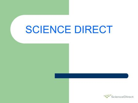 SCIENCE DIRECT.