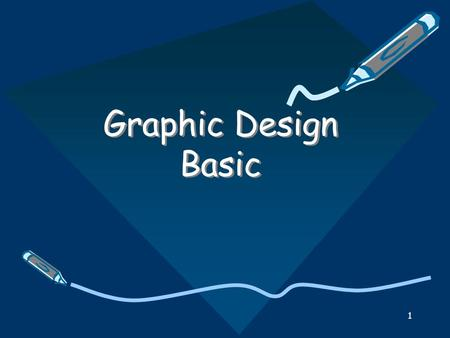 Graphic Design Basic.