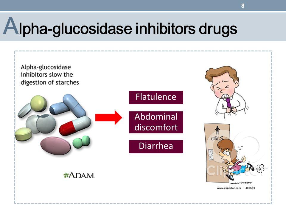 Alpha-glucosidase inhibitors drugs