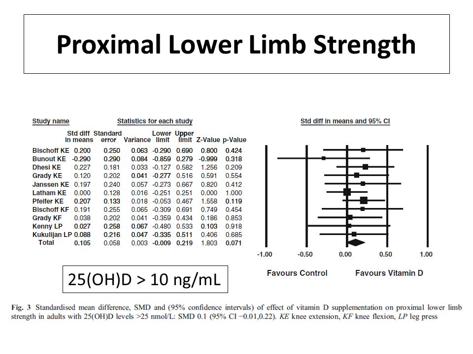 Proximal Lower Limb Strength