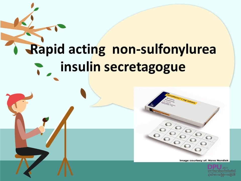 Rapid acting non-sulfonylurea insulin secretagogue