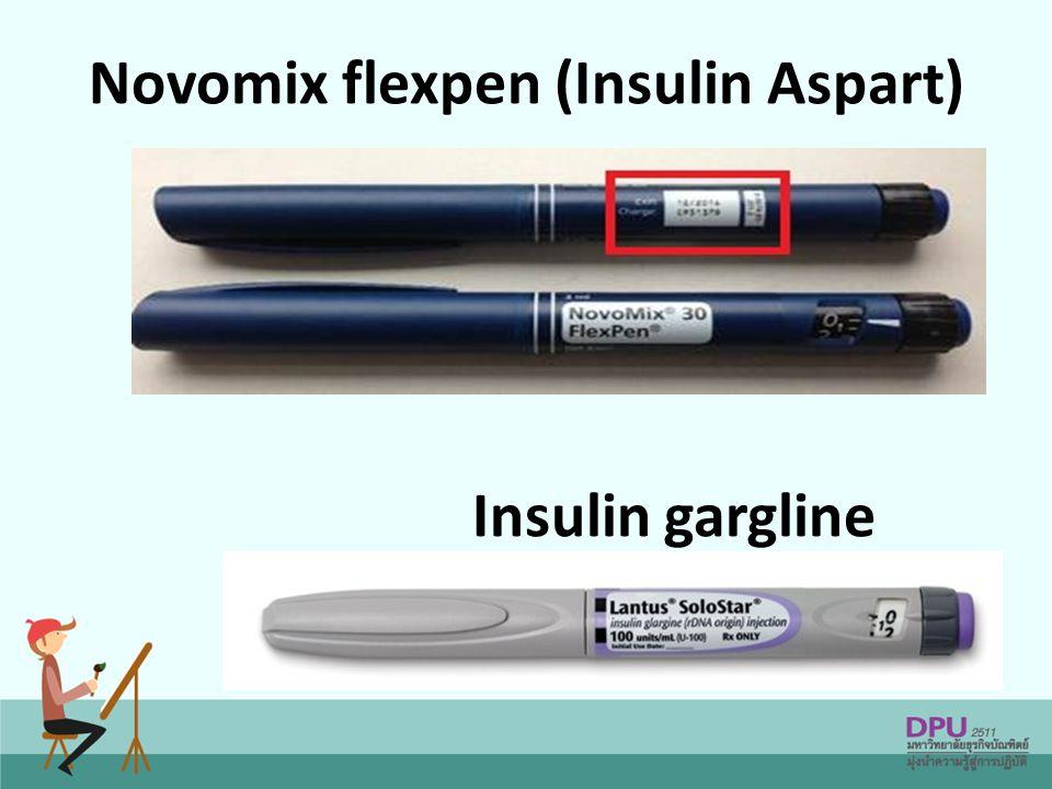 Novomix flexpen (Insulin Aspart)