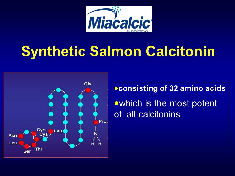 Synthetic Salmon Calcitonin