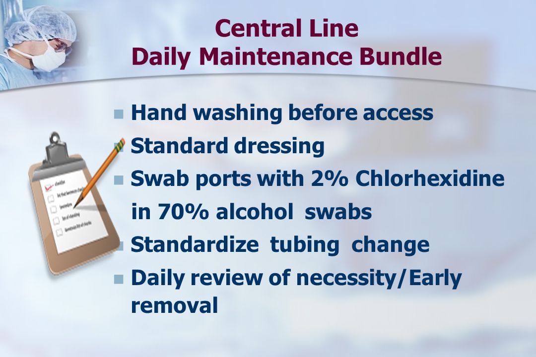 Central Line Daily Maintenance Bundle