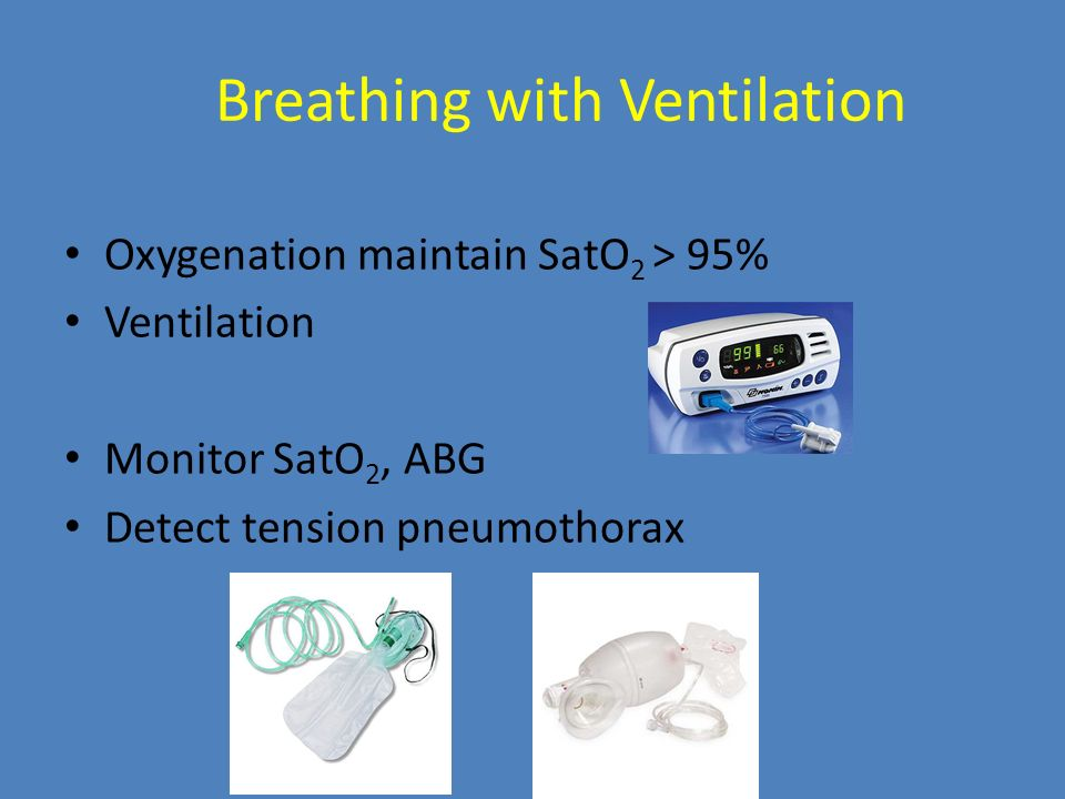 Breathing with Ventilation