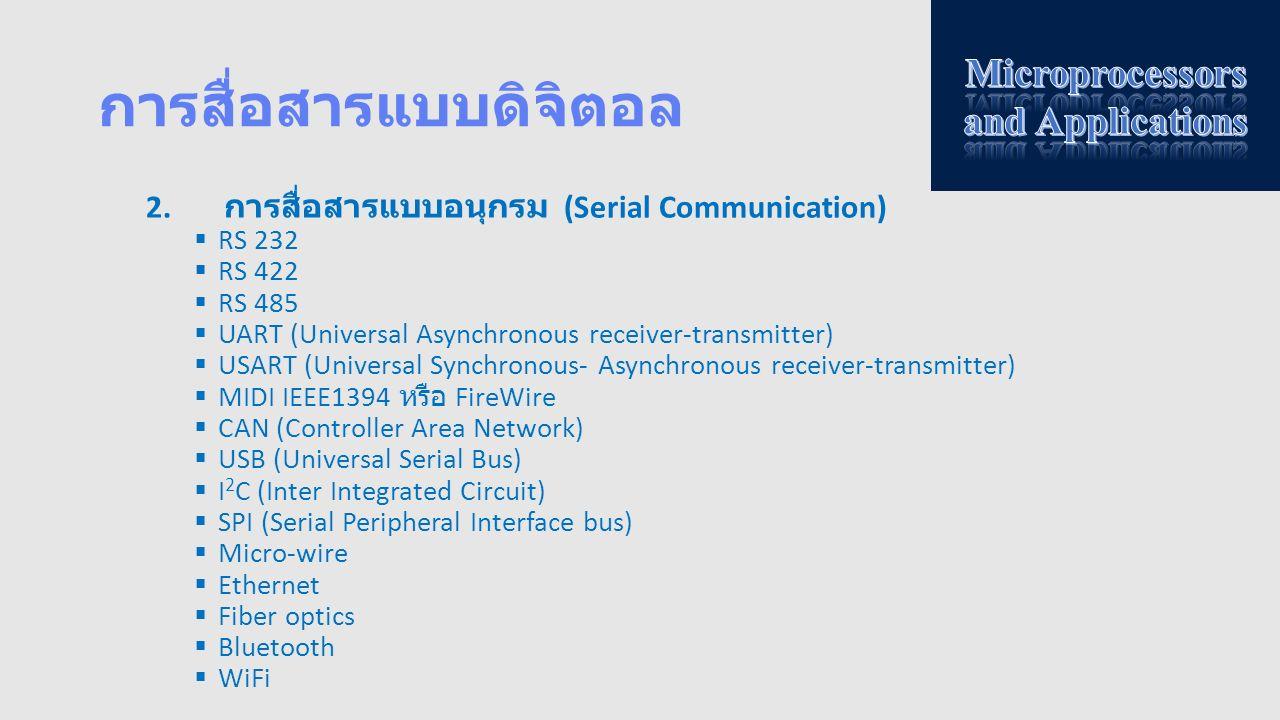 การสื่อสารแบบดิจิตอล