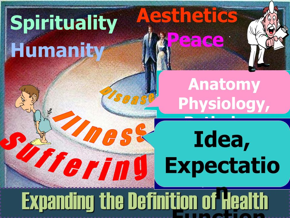 Suffering Illness Expanding the Definition of Health Idea, Expectation