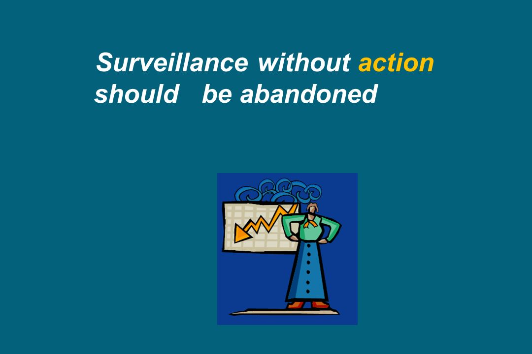 Surveillance without action
