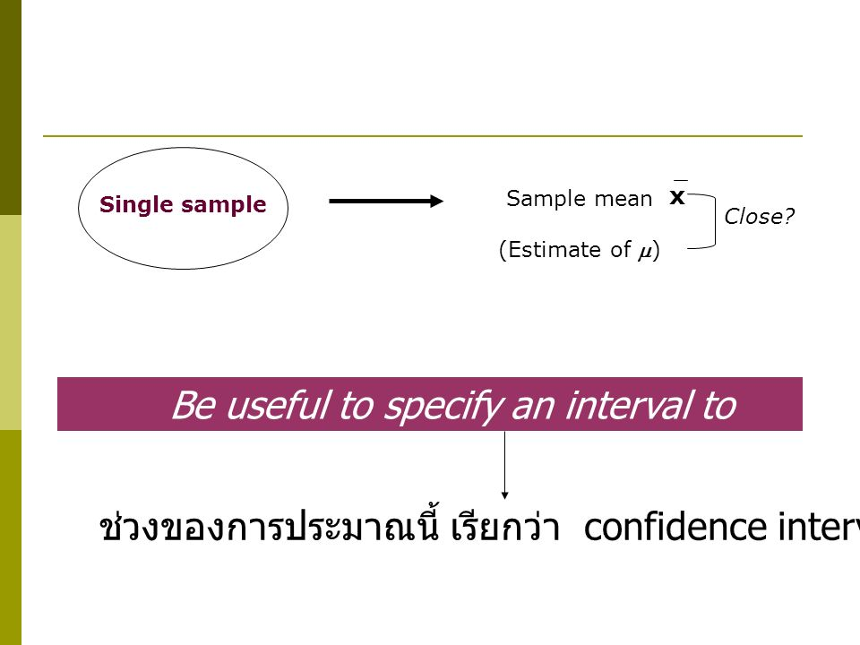 Be useful to specify an interval to include 