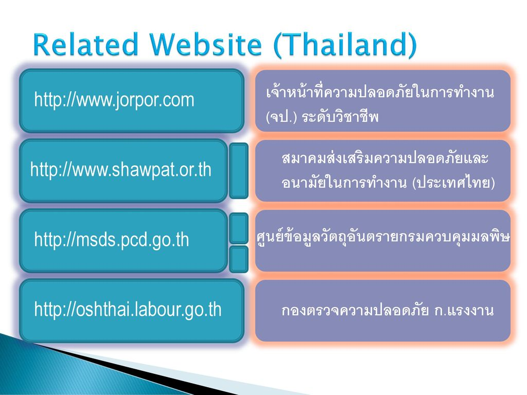 Related Website (Thailand)