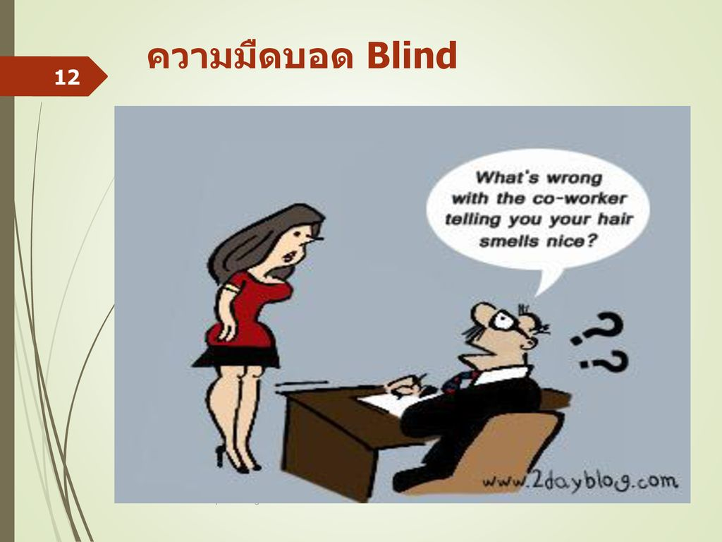 ความมืดบอด Blind II Basic Prinicples of Legal Ethics