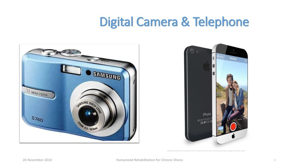 Digital Camera & Telephone