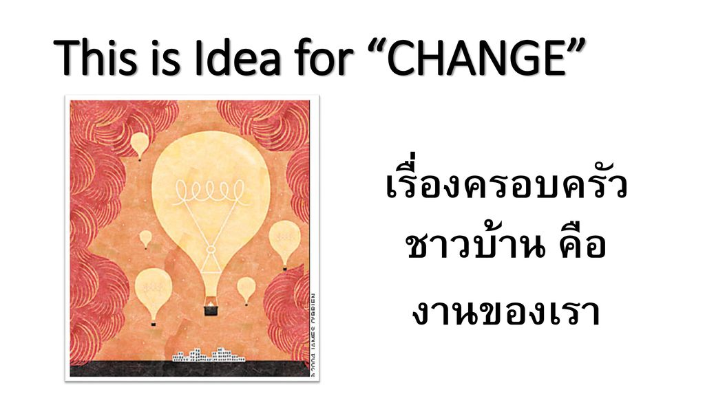 This is Idea for CHANGE
