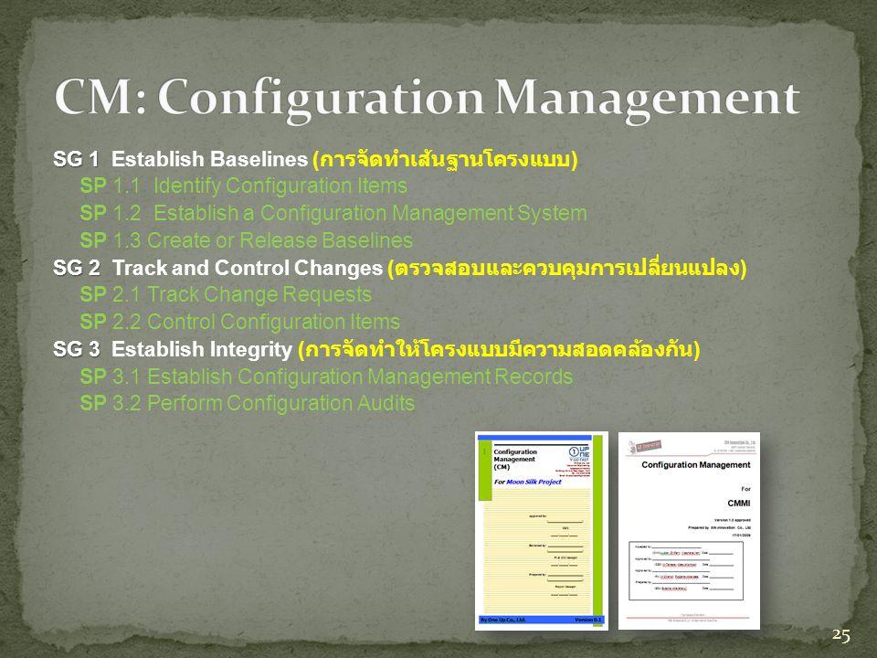 CM: Configuration Management