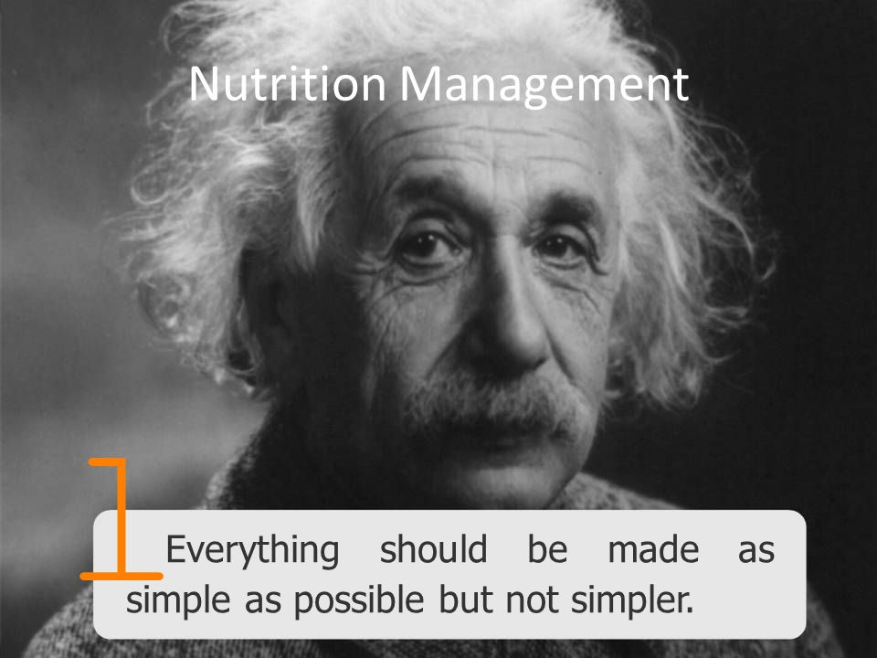 l Nutrition Management