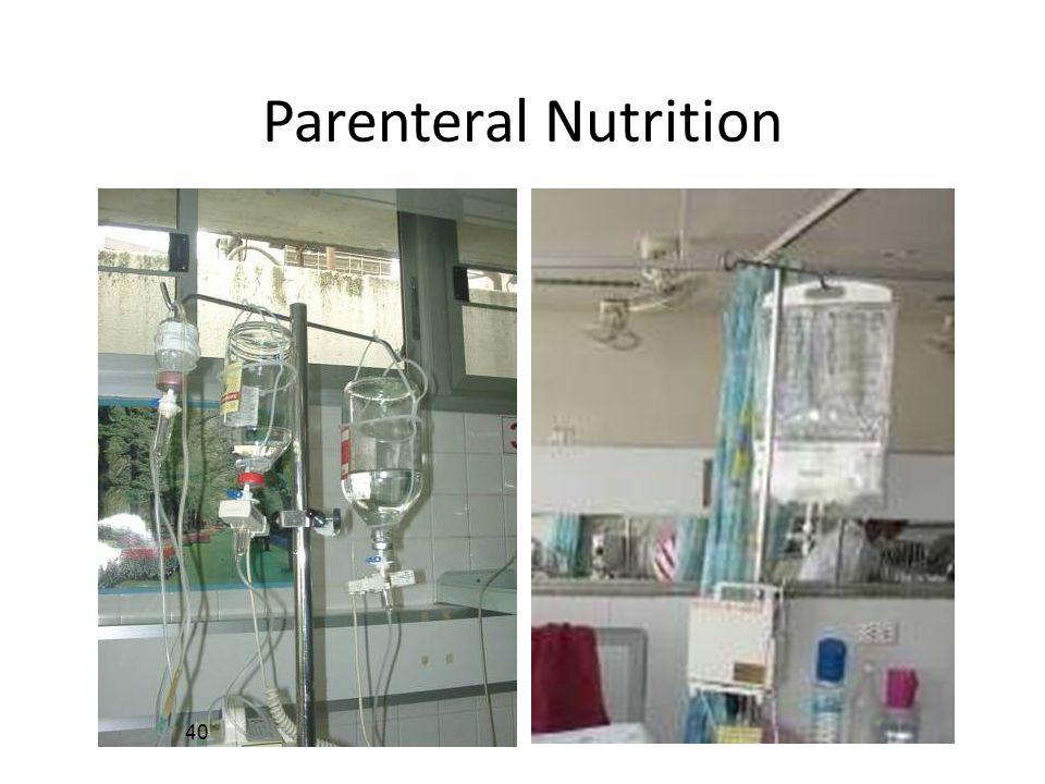Parenteral Nutrition 40