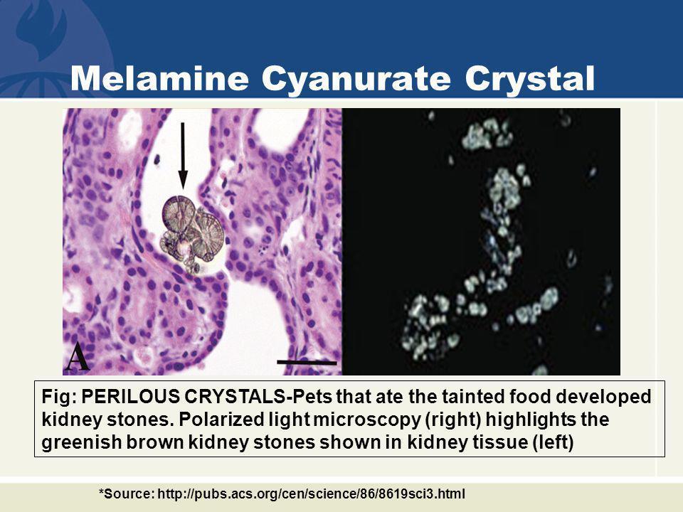 Melamine Cyanurate Crystal